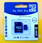 BRAND NEW 64GB MICRO SD SDHC MEMORY C...