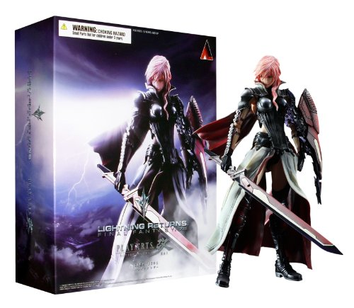 Square Enix - Figurine - Lightning Returns Final Fantasy Xiii-2 - Play Arts Kai - Lightning - 4988601319171