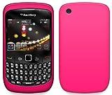 4-Ok FSIR85 - Funda silicolor para Blackberry 8520 /9300 Curve, color rosa