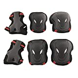 YIMAN Safety Protective Gear S,M,L Size Keen,Elbow,Wrist 6pcs Set Protective Pads