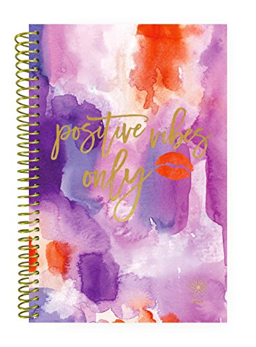 Bloom Daily Planners 2017 Calendar Year Daily Planner - Passion/Goal Organizer - Monthly Weekly Agenda Datebook Diary - January 2017 To December 2017 - 6