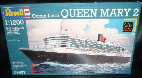 Revell 1/1200 Ocean Liner Queen Mary 2 (Cruise Ship Model compare prices)