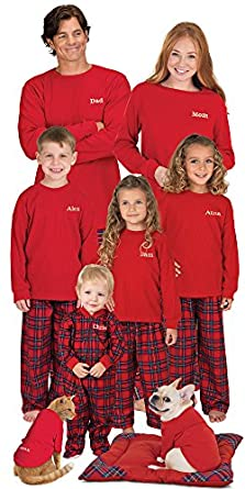 Stewart Plaid Thermal Top PJs for Women 3X (24-26)