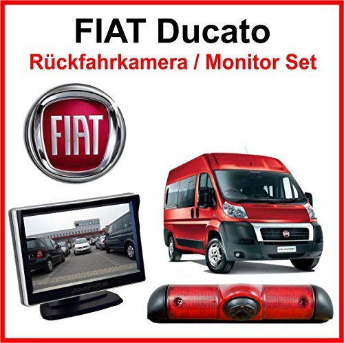 fiat ducato cam ra de recul moniteur set de. Black Bedroom Furniture Sets. Home Design Ideas