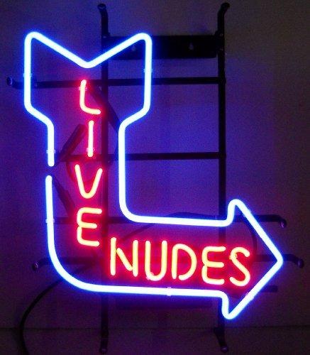 Neonetics 5NUDE Live Nudes Neon Sign