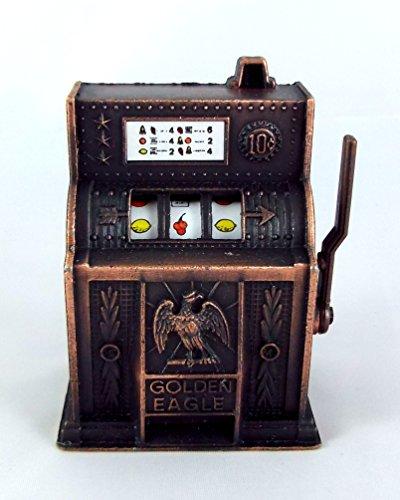 Puppen-Mini-Pub-Hausbar-Shop-Arkade-Zubehr-Alte-Altmodische-Spielautomat