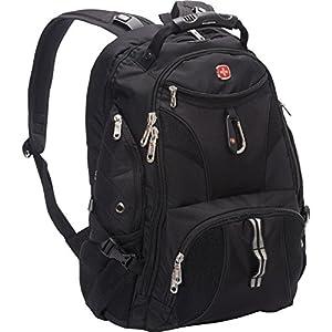 Amazon.com: SwissGear Travel Gear ScanSmart Backpack 1900 (Black