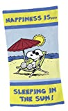 "Global Labels G 94 400 PEA2 120 Peanuts ""Happiness"" Strandtuch"