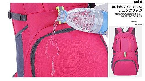 186b87406837 折りたたみ リュックサック 旅行 収納 携帯バッグ 大容量 マザーズリュック 折り畳み 軽い ...