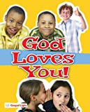 img - for God Loves You Evangelism Booklet   Package of 20: Help kids understand the good news about Jesus and salvation using this simple, clear and practical booklet (SonSpark Labs VBS) book / textbook / text book