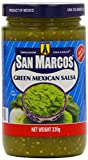 San Marcos Green Mexican Salsa 230 g (Pack of 6)