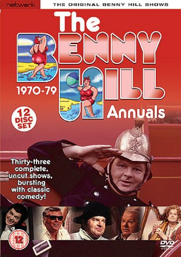 The Benny Hill Complete 70s Annual DVD cover