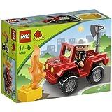 Lego Duplo Legoville - 6169 - Jouet d'Eveil - Le Chef des Pompiers