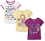 #8: Donuts Baby Girls' T-Shirt (Pack of 3) (272516668_Assorted_18M)