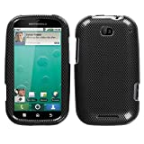 MyBat Motorola Bravo Phone Protector Cover - Carbon Fiber