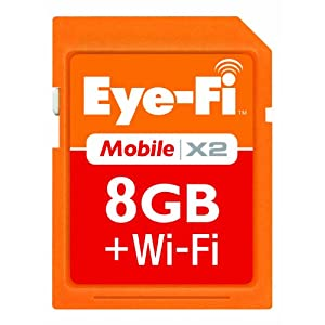 Eye-Fi 8 SDHC Class 6 Wireless Memory Card