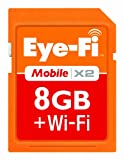 Eye-Fi 8 GB Mobile X2 SDHC Class 6 Wireless Memory Card EYE-FI-8MD