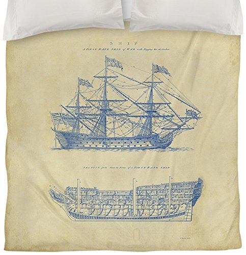 Twin Nautical Bedding 8411 front