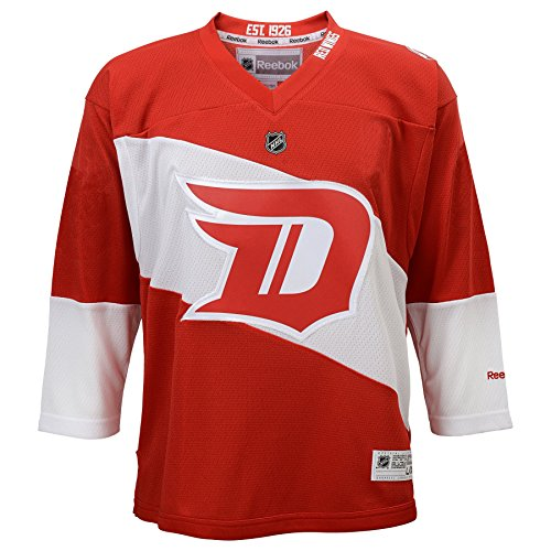 NHL Detroit Red Wings Boys 8-20 Replica Stadium Series Jersey, Small/Medium (Nhl Clothing compare prices)