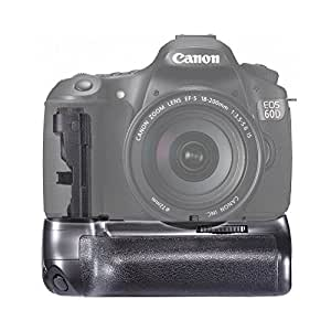 Neewer Professional Battery Grip (Replacement for Canon BG-E9) for Canon 60D Digital SLR Camera