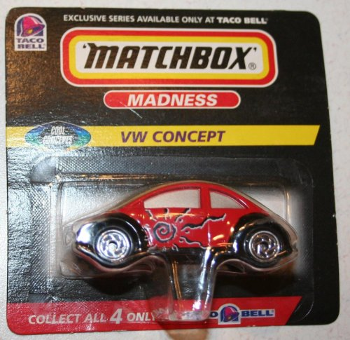 Matchbox Madness - VW Concept - Taco Bell - Cool Concepts - 1998 - 1