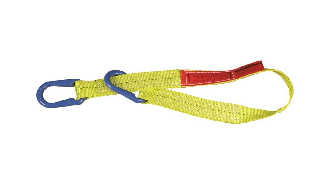 Liftall UU2602DX18 Polyester Web Sling, 2-ply, Type Unilink, 2 Width x 18' Length liftall ee2601dtx5 polyester web sling 2 ply eye and eye twisted eye 1 width x 5 length
