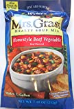 Mrs. Grass Homestyle BEEF VEGETABLE Soup Mix 7.48oz (3 Pack)