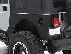 Smittybilt 76878 Jeep Wrangler XRC Rear Corner Guards - CJ / YJ / TJ - Corner Guards