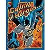 Batman Heroes and Villains Invitation…