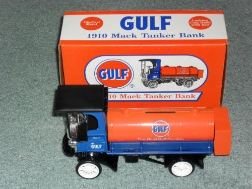 GULF OIL 1910 MACK TANKER TRUCK 1996 ERTL