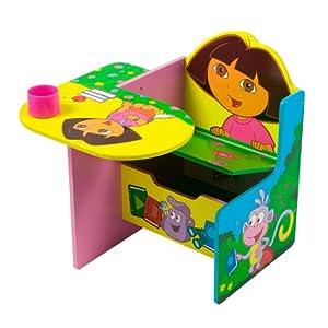 Dora The Explorer Chair Desk With Storage