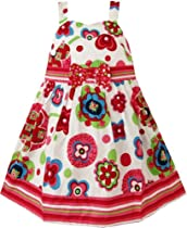 BV26 Girls Dress Cartoon Pink Party Pageant Princess Kids Clothes Size 7-8