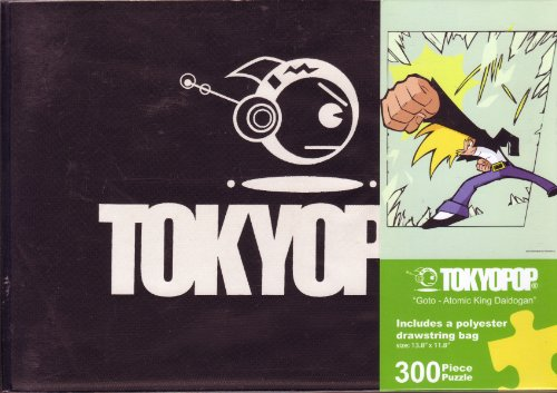 "TOKYOPOP ""Goto - Atomic King Daidogan"" 300 Piece Puzzle with Reusable Drawstring Bag"