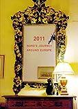 2011年1月始まり ヨーロッパを旅してしまった猫と12ヵ月 手帳 CD-089-NH