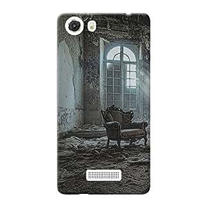 Mobile Back Cover For Micromax Unite 3 Q372 (Printed Designer Case)