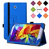 WAWO Samsung Galaxy Tab 4 8.0 Inch Tablet Smart Cover Creative Folio Case - Blue