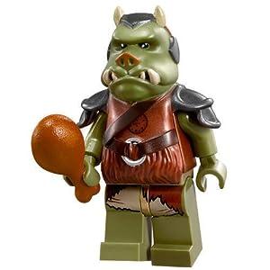 LEGO STAR WARS garde de jabba gamorrean avec morceau de viande TM
