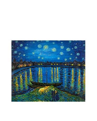 Arte dal Mondo  Pannello Decorativo Van Gogh Notte Stellata Sulla Rhona