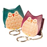 Mini Owl Purse Keyrings (2)