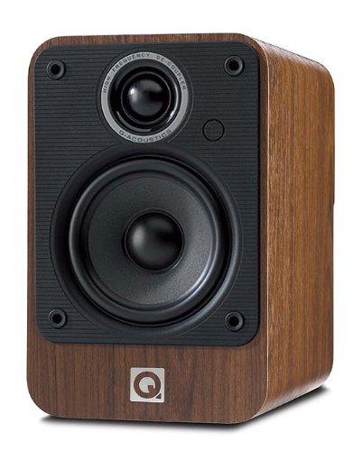 Q Acoustics 2010i Bookshelf Speaker Pair Walnut
