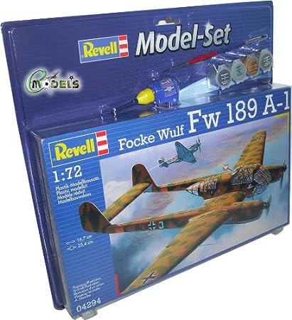 Revell - 64294 - Maquette - Model Set - Focke Wulf Fw 189 A-1