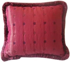 Amazon Com Designer Burgundy Red Royal Brushed Fringe