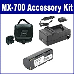 Fujifilm MX-700 Digital Camera Accessory Kit includes: SDNP80 Battery, SDM-144 Charger, SDC-27 Case