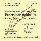 Nürnberger Künstler Saitensatz 1/4 Geige/Violine E-Saite Hartal umsponnen mittel