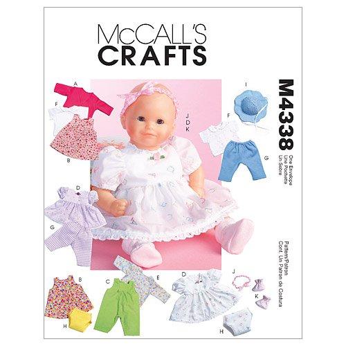 mccalls-patterns-m4338-patrons-de-vetements-pour-poupee-lot-de-1-blanc