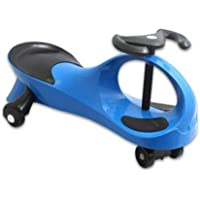 Wistcar Roller Twist Car Kids Ride On Wiggle Outdoor Play Swing Vehicle (Blue)