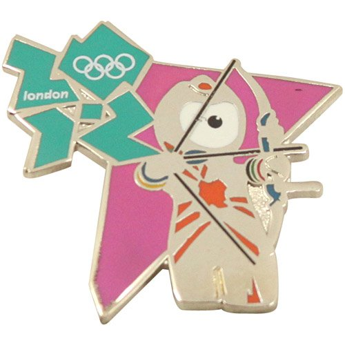 Olympics London 2012 Olympics Mascot Archery Pin