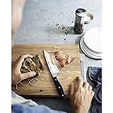 WMF Kochmesser Spitzenklasse Plus Länge 34 cm Klingenlänge 20 cm Performance Cut Made in Germany geschmiedeter Spezialklingenstahl fugenlos vernieteter Griff aus Kunststoff -