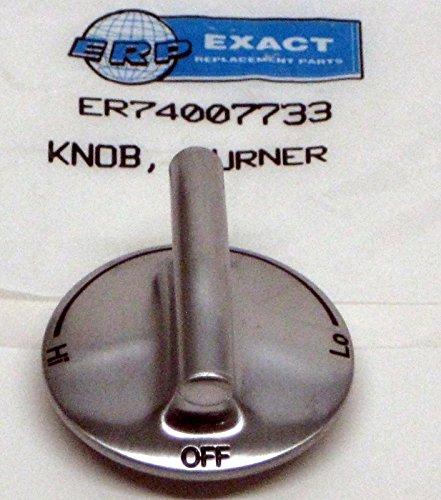 Jenn-air Burner Knob OEM Brushed Finish 74007733 (Jenn Air Oven Parts compare prices)