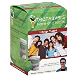 Teensavers, Home Drug Test Kit, 3 Drugs Tested 1 test kit